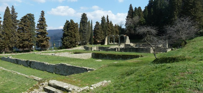 Area Archeologica di Fiesole: a spasso tra etruschi e romani