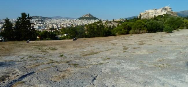 I colli di Atene: Areopago, Filopappo, Muse, Pnice, Ninfe e Licabetto