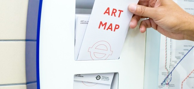 Art on the Underground: l'arte moderna nella metropolitana di Londra