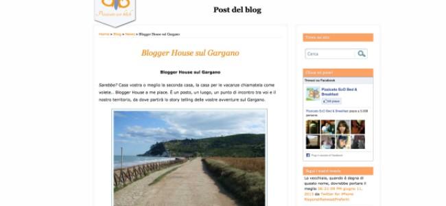 Sul Gargano nasce la Blogger House: dal 1 febbraio al 30 maggio