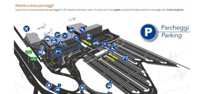"""Aeroporto di Firenze """"Amerigo Vespucci"""": dove parcheggiare l'auto"""