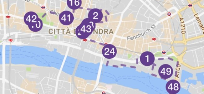 City of London Visitor Trail: la app per esplorare la City di Londra