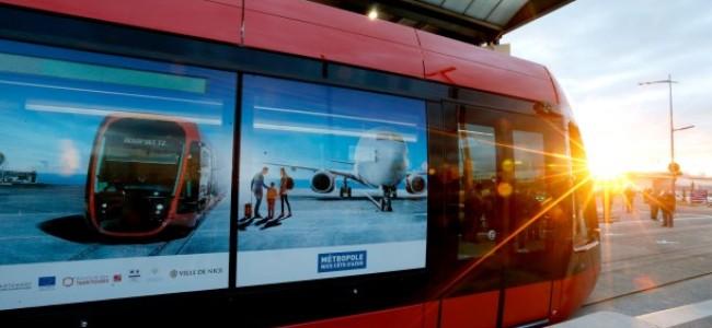 Tramvia di Nizza: linea 2 dall'aeroporto al centro città in 30 minuti