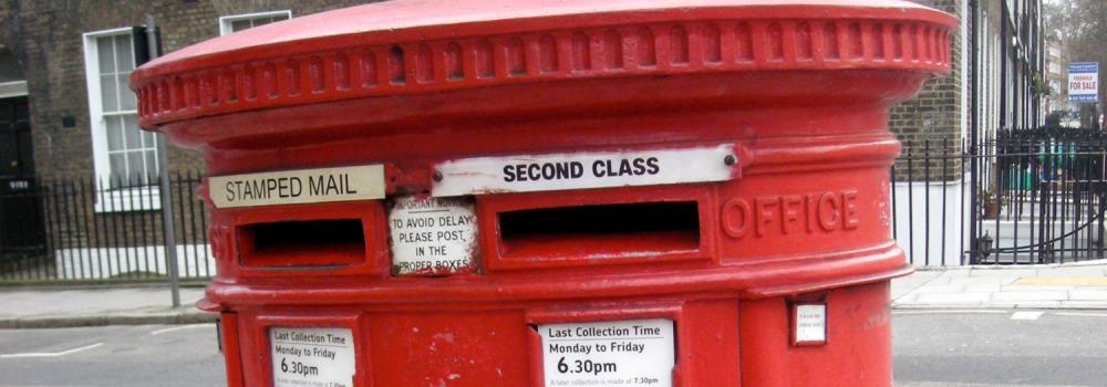 mailbox a londra