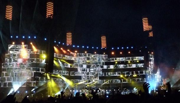 Muse Tour 2013: palco