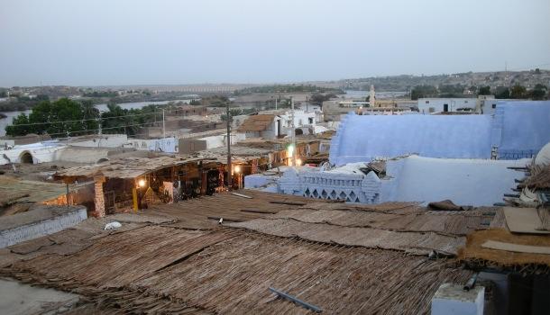 villaggio vicino asswan