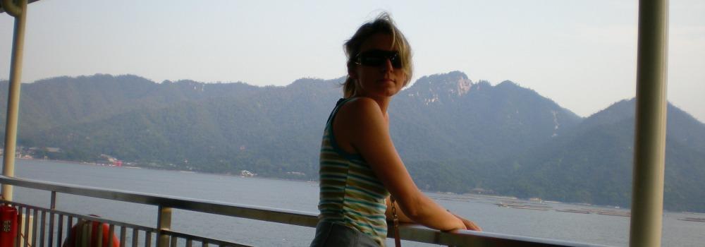 Ylenia Caioli viaggio a Miyajima