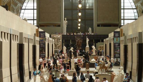 entrata museo d'orsay