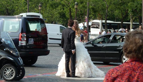 matrimonio all'arco di trionfo