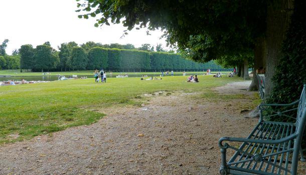Imbarcadero nel parco di Versailles