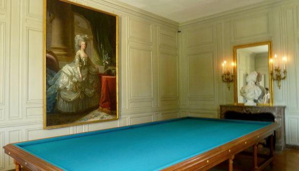 Petit Trianon: sala da biliardo - Reporter in Viaggio