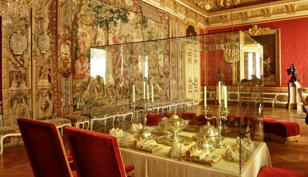 appartamenti del re sala da pranzo reporter in viaggio