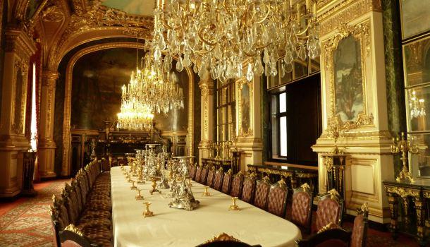 Sala pranzo napoleone iii reporter in viaggio for Sala da pranzo reale