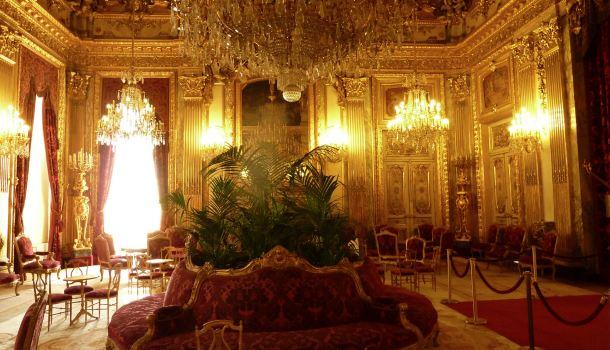 Louvre da palazzo reale a museo della gioconda for Sala da pranzo reale