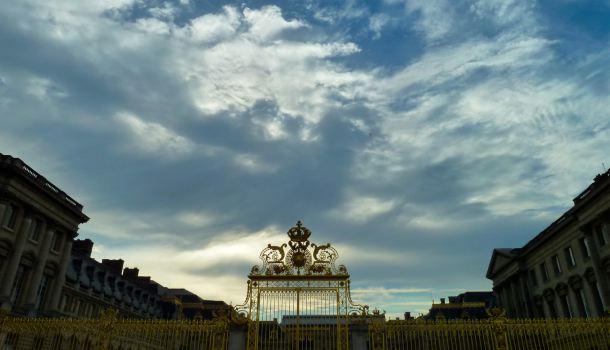 Tramonto a Versailles