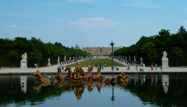 Versailles e la Fontana di Apollo