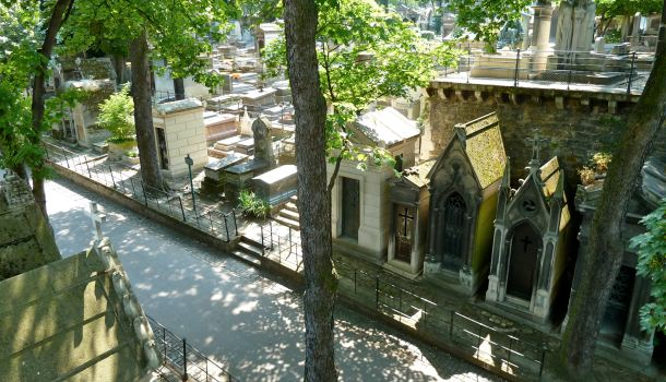 viali cimitero montmartre