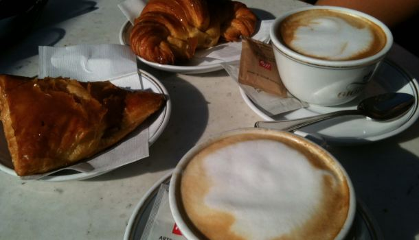 Colazione da Giorgio a Firenze