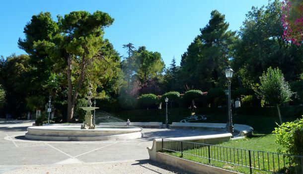 Giardini di Villa Comunale a Chieti