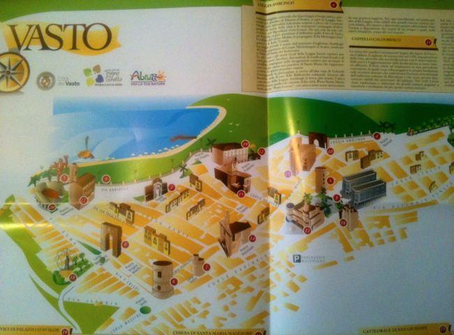 piantina di Vasto