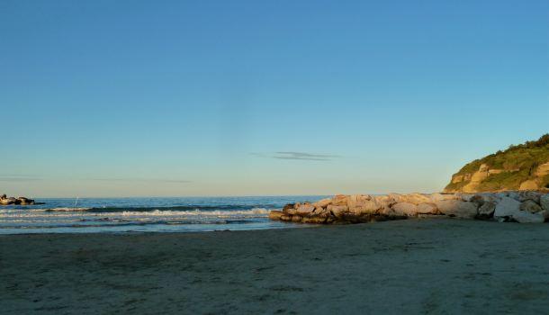 Spiaggia libera a Lido Riccio in Abruzzo