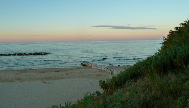 tramonto a Lido Riccio