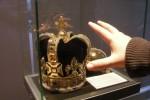 Riproduzione della Corona reale