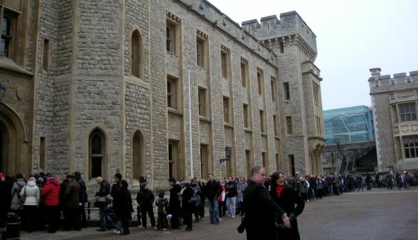 Jewels House nella Torre di Londra