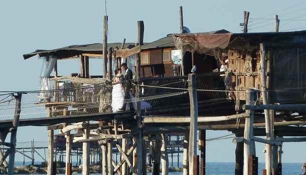 matrimonio sul trabocco di Punta Cavalluccio