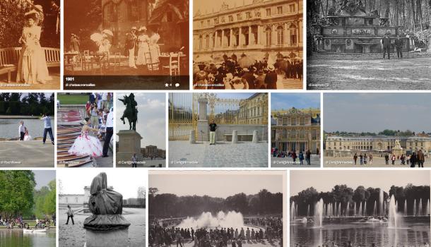 Photos souvenir Chateau de Versailles