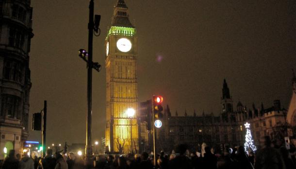 Big Ben a Capodanno