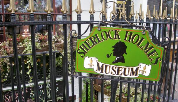 Sherlock Holmes Museum a Londra