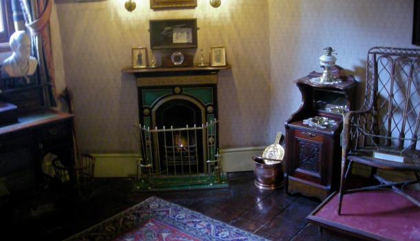 camera da letto di Holmes