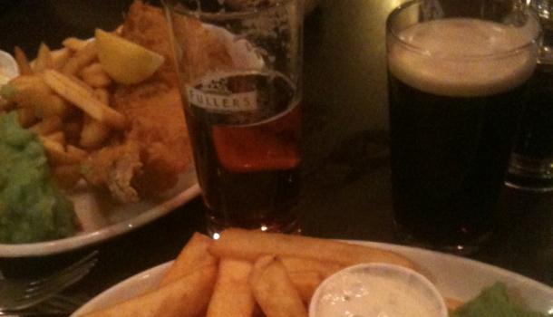 fish&chips a Londra