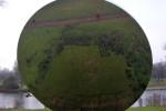 Sky mirror dell'artista inglese Anish Kapoor