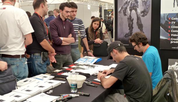 Disegnatori a Lucca Comics