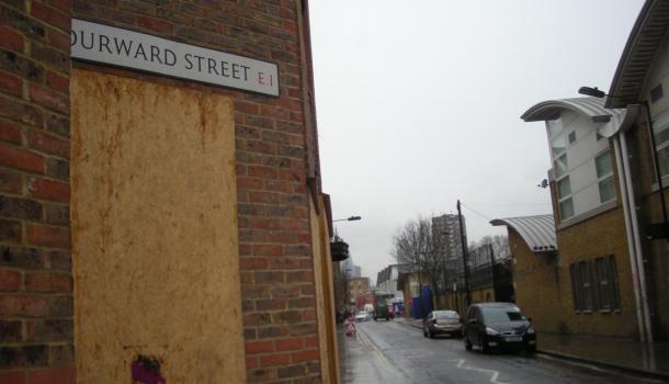 Durward street a Whitechapel