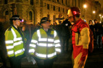 iron man a Parlament Square