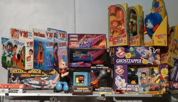 Lucca C&G: vecchi giocattoli