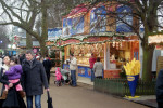 Gli stand del winter wonderland