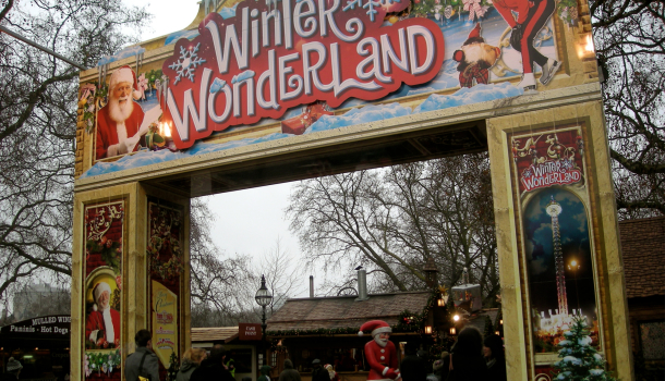 winter wonderland ad Hyde Park
