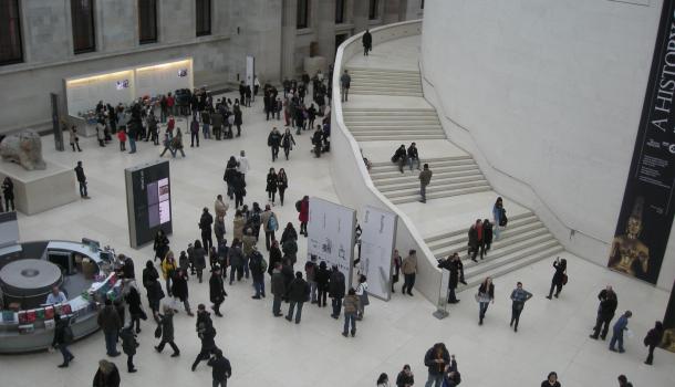 Ingresso al British Museum di Londra