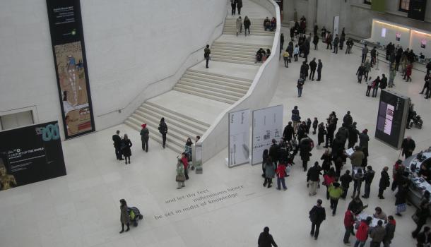 Queen Elisabeth Great Court al British Museum
