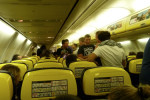 Interno aereo Rayanair