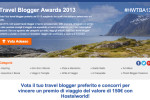 Travel Blogger Award 2013 Hostelworld