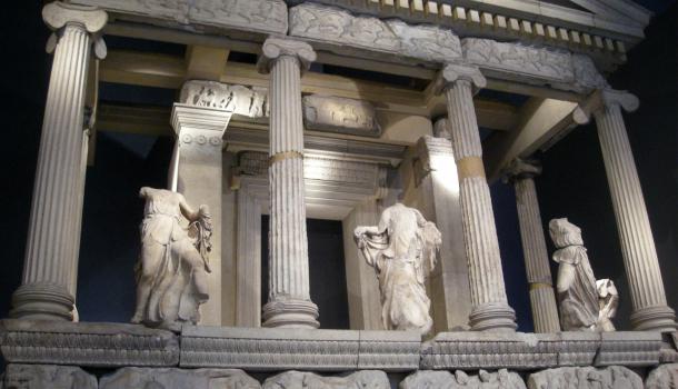 Mausoleo di Alicarnasso al British Museum