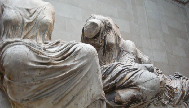 British Museum: statue del Partenone