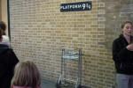 Carrello nel muro a King's Cross