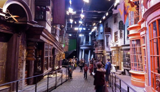 Diagon Alley - WB Studio Tour London