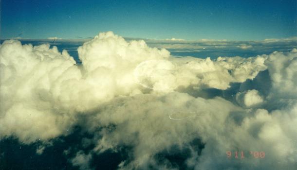 in volo per il Messico